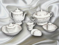 wholesale fine royal square porcelain dinnerware set