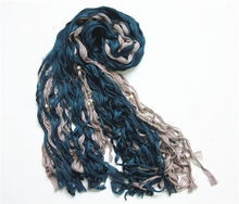 Wholesale fashion crocheted beaded scarf