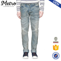 OEM plus size wholesale rock revival jeans for men