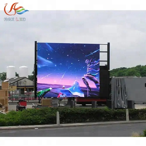 10mm Big Outdoor Led Advertising <strong>Screen</strong> Price for video, picture/ easy install/ 3G/4G,wifi,computer,internet control