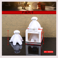 Cell Mobile Phone Holder Big Hero6 Baymax Silicone Cute Phone Rack Mini Desk Universal Mobile Phone Stand For Smartphones