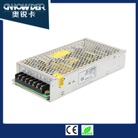 Factory price severial series 120W 5v 12v 24v 3 5 10 12 amp Power Supply With Repair Mobile Phone D-120 SMPS 2 Years Warranty