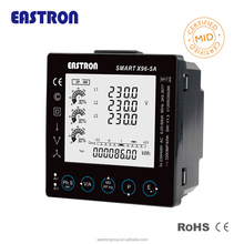 Smart X96 MID B+D Approved Smart Power quality analyzer RS485 Modbus Digital Power Meter