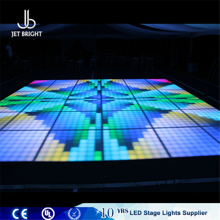 DMX 3D laser dance floor light, led starfall video tube light dj,disco lighting make led 3d audio dance floor