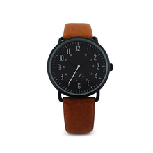 2018 Wholesale Factory Price Oem Fashion Leather Strap Curren Watch Men