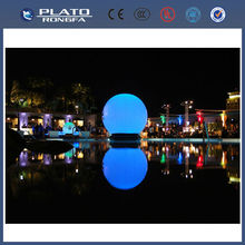 eye-catching giant inflatable led glow floating ball