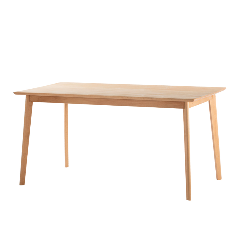 Japanese Beech Furniture Solid Wood Classic Rectangle Dining <strong>Table</strong>