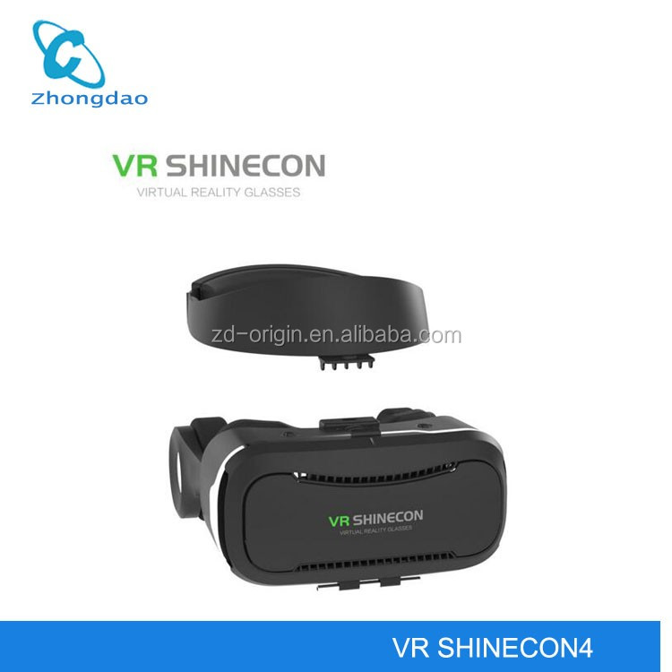 2017 smart glasses google cardboard 3d glasses vr shinecon 4 from vr manufacture