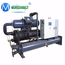 High Effect 100tr 350kw Screw Hanbell/Fusheng Water Cooled Water Chiller System