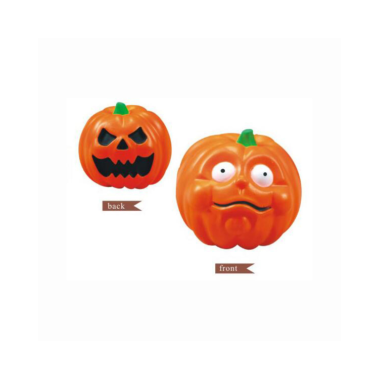 Promotional Cute PU Material Pumpkin Face Stress Reliver