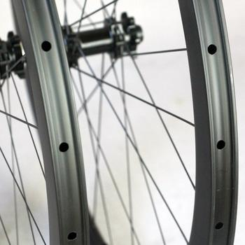UCI Tested Carbon Disc Brake Wheelset road carbon wheels for clincher