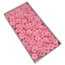 The new artificial cherry blossom soap flower is suitable for the bouquet decoration <strong>sakura</strong> in the gift box