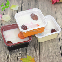 Clear plastic bread packaging Box&Cake dessert insert packaging tray