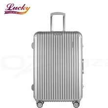 Luxury Hardshell Suitcase Aluminum Luggage With tsa Lock