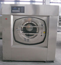 steam heating 15kg laundry automatic washing machine