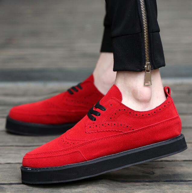 zm32364a new model thick sole shoes casual men platform shoes 2016 autumn