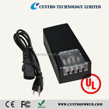 New Design CE UL SAA Approved 12V 5A 4CH adapter CCTV Power Supply