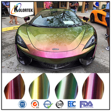 Chromaflair color shift spray paint pigment, chrome chameleon pigment for auto paint factory
