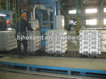 Al./Copper/lead/Zinc alloy ingot casting machine