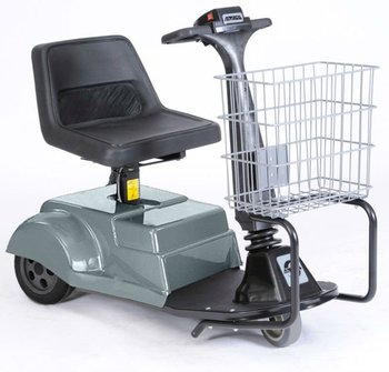 how to use a motorized shopping cart