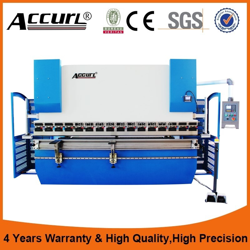 Top quality WC67K-100T 3200 CNC electric synchronization hydraulic haven press brake for Accurl