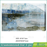 Amazon Hot Sell Famous Modern Abstract Landscape Pictures Wall Art Home Office Decorations Artwork Painting