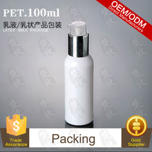 Packed Snow Whitening Lotion In 100ml PET Bottle With Pump