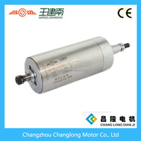 electric high speed spindle motor 1.5kw for wood engraving 220V collect ER11 400Hz 24000rpm(GDZ 80-1.5)