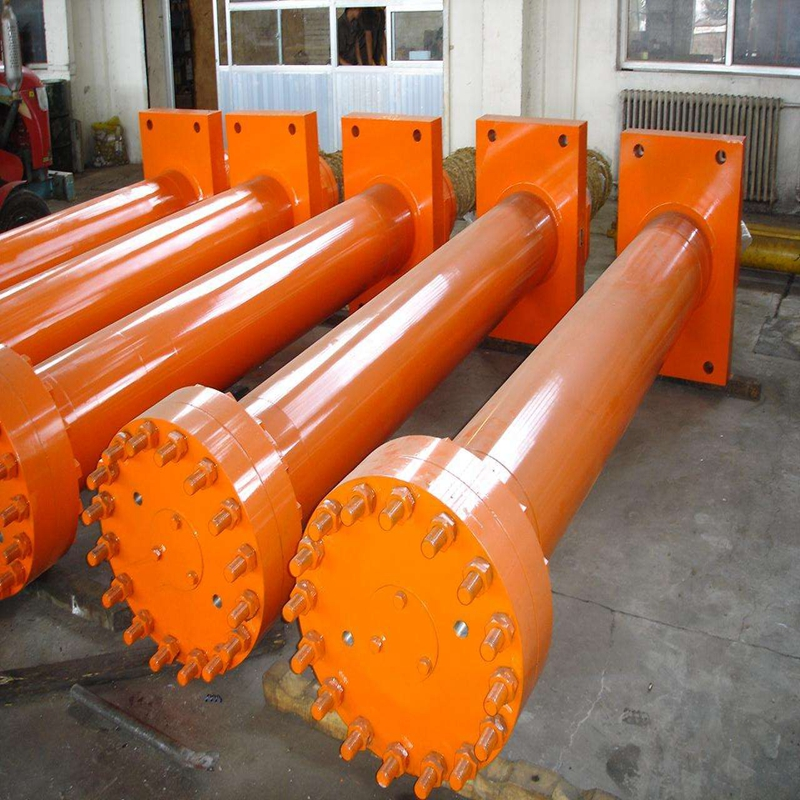 double acting high tonnage hydraulic ram cylinders