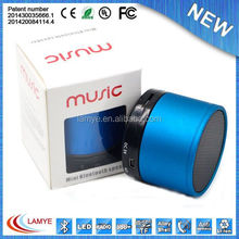 Promotion gadgets Mini bluetooth rechargeable portable speaker with sd card slot