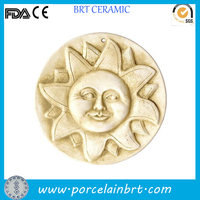 Smiling sun face decorative Garden Stepping Stones