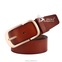 Wholesale Fashion cow skin Genuine Leather Belts
