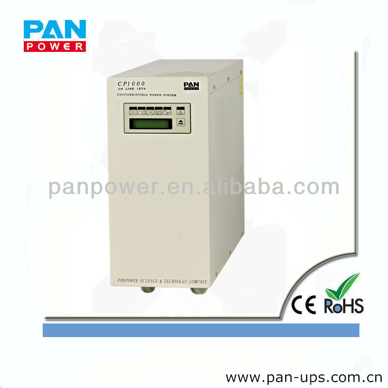 5kw ups power supply sine wave online ups