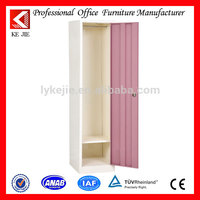 Steel office file cabinet/cupboard beautiful cold rolled steel wardrobe with mirror storage portable locker