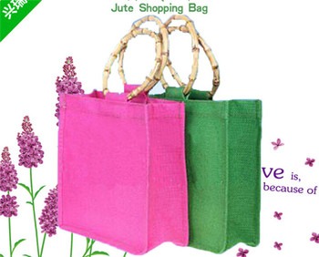 Cocoa Jute Bag, Economical and Environmental Friendly Bags Make in China