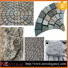 Black Granite Hexagon Paving Stone