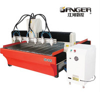 Hot Sale Six Head Multi Function Woodworking CNC Router Machine