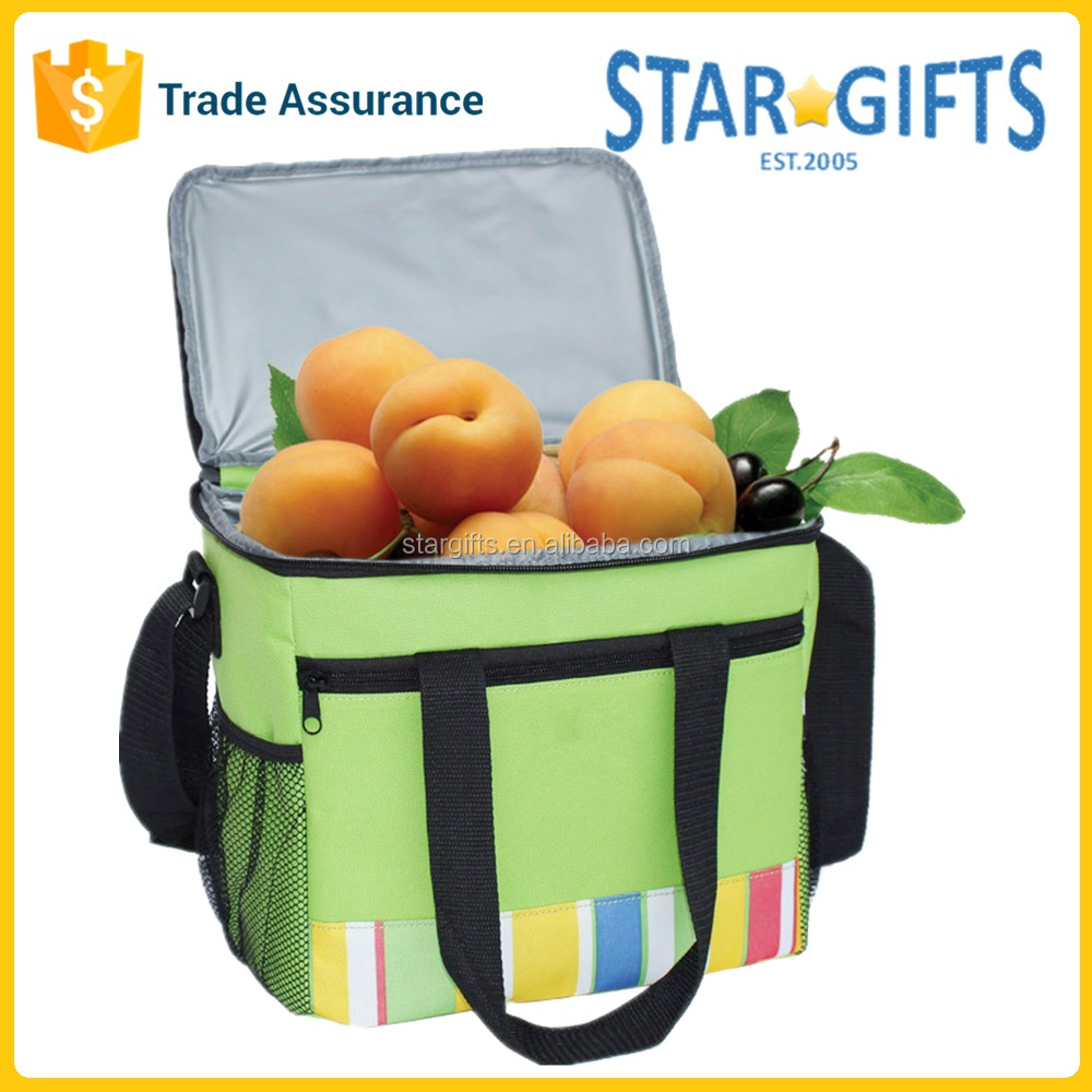 Wholesale Waterproof 600D Polyester Thermal Insulated Picnic Cooler Pack