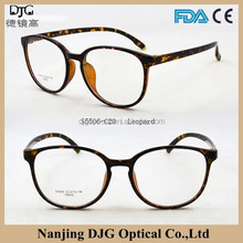 China Brand Name Spectacle Frames TR90 Optics Eyeglass Frame With Fascinating Design