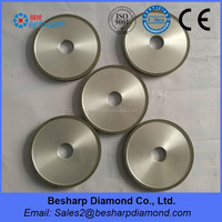 Resin bond diamond grinding wheel for glass polishing