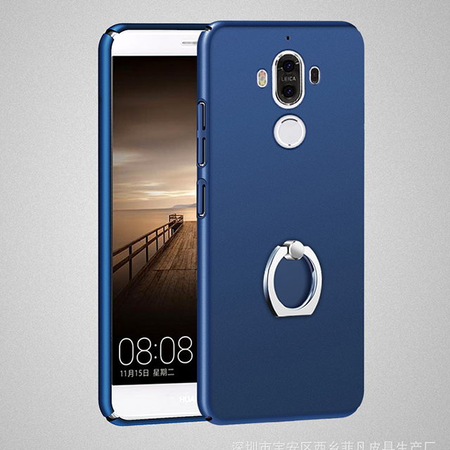 Mobile Phone Case PC rubber oil coating Protect Phone Cover for Huawei Mate 9,full matte pc curved cover