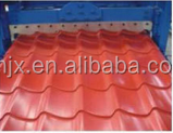 Roof tile forming machine,glazed tile making machine,steel sheet roll former