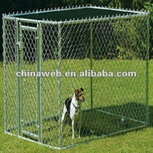 Dog Pet Yard Galvanized Chain Link Fence Enclosure Kennel