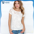 new fashion ladies lace tops latest design
