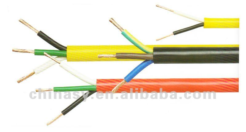 VDE rubber insulated cable with EPR insulation