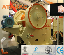 JC&C Series High Effeciency Stone Jaw Crusher Plant , Jaw Crusher