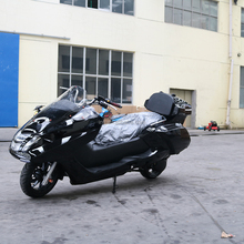 Chinese hot sale cheap new design popular 300cc automatic gas trike scooter