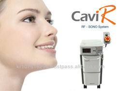 Dual system RF + Cavitation Multipolar machine