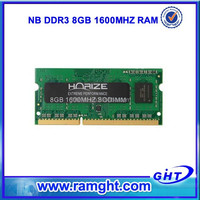 Cheap computer parts ETT chips 2x8gb Ddr3 1600mhz 16gb