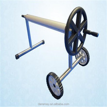 High quality stainless steel swimming pool cover reel/roller/automatic winding machine